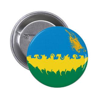 Rwanda Gnarly Flag Pin