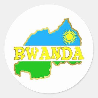 Rwanda Goodies 2 Classic Round Sticker