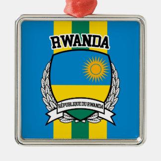 Rwanda Metal Ornament