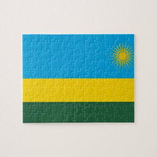 Rwanda National World Flag Puzzles