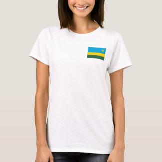 Rwanda National World Flag T-Shirt