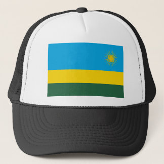Rwanda National World Flag Trucker Hat