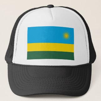 Rwanda National World Flag Trucker Hat