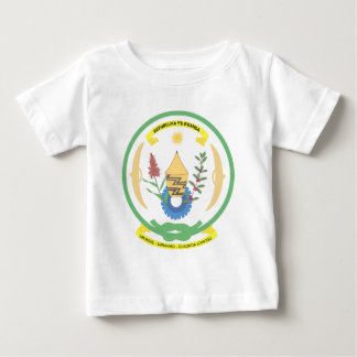 Rwanda Official Coat Of Arms Heraldry Symbol Baby T-Shirt