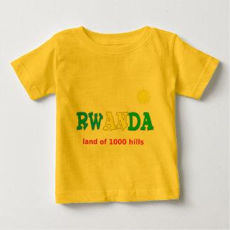 Rwanda the land of 1000 hills baby T-Shirt