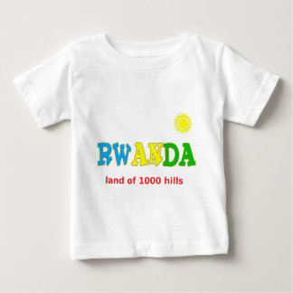 Rwanda, the Land of 1000 hills Baby T-Shirt