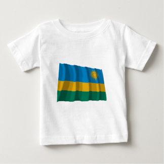 Rwanda Waving Flag Baby T-Shirt