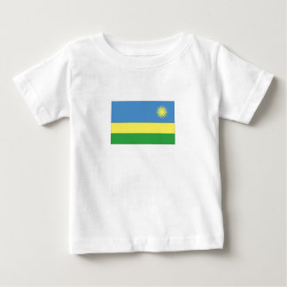 Rwandan Flag Baby T-Shirt