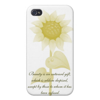 RWE Quotes..Beauty Iphone Hard Shell Case Case For iPhone 4
