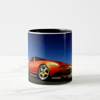 RX7 Sports import Two-Tone Coffee Mug