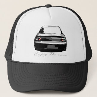 "RX8 ""Enjoytheview."" Trucker Hat"