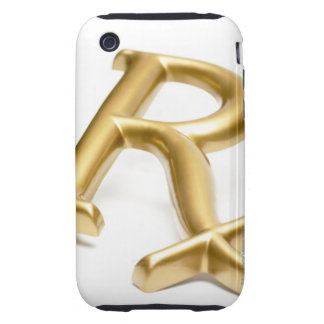Rx drug sign tough iPhone 3 cases