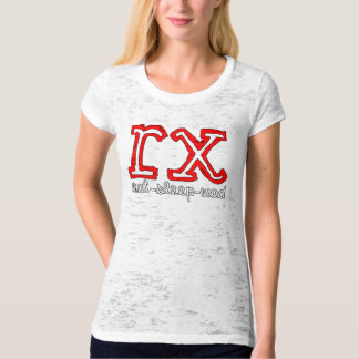 RX - Eat Sleep WOD Ladies Burnout  T-shirt