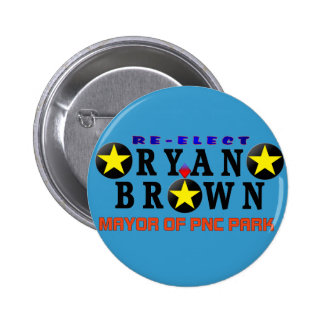 Ryan Brown Re-Election Campaign Button
