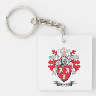 Ryan Coat of Arms Keychain