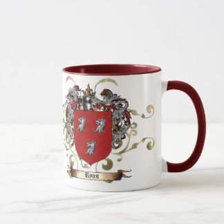Ryan Coat of Arms Mug