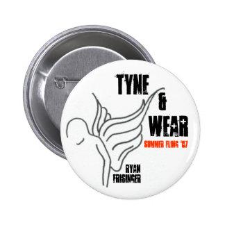 """Ryan Frisinger - """"Tyne & Wear"""" - Button"""