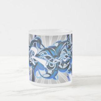 Ryan Frosted Glass Coffee Mug