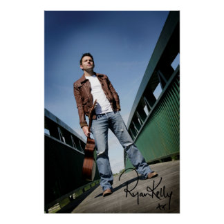 "Ryan Kelly Music - Poster - Bridge -""Signed"""