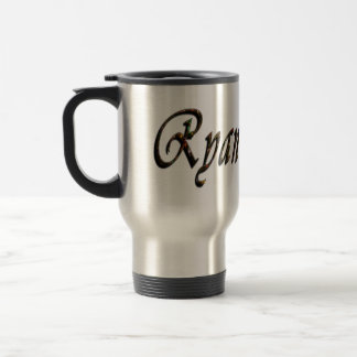Ryan, Logo, Name, Travel Mug