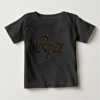 Ryan, Name, Logo, Baby's Black T-shirt