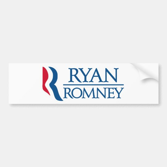 Ryan Romney Bumper Sticker
