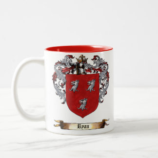 Ryan Shield of Arms Two-Tone Coffee Mug