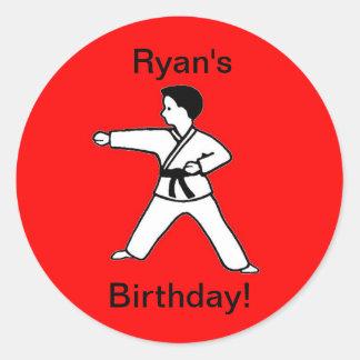 Ryan's birthday stickers