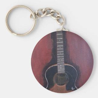 Ryan's Guitar Keychain