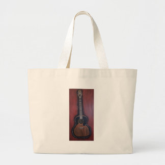 Ryan's Guitar Large Tote Bag