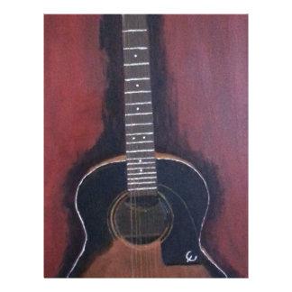 Ryan's Guitar Letterhead
