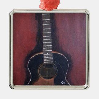 Ryan's Guitar Metal Ornament