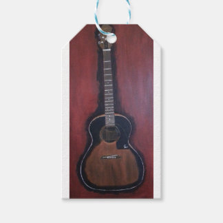 Ryan's Guitar Pack Of Gift Tags