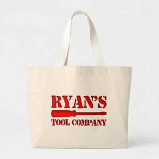Ryan's Tool Company Jumbo Tote Bag