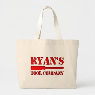 Ryan's Tool Company Large Tote Bag