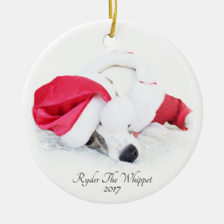 Ryder The Whippet ornament