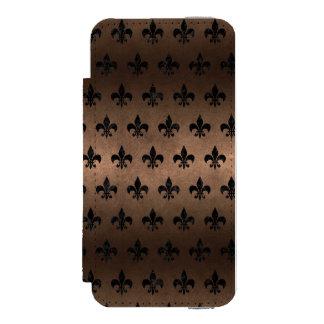 RYL1 BK-MRBL BZ-MTL INCIPIO WATSON™ iPhone 5 WALLET CASE