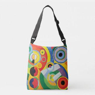 Rythme Joie de Vivre by Robert Delaunay Crossbody Bag