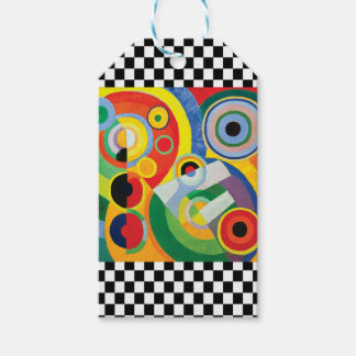 Rythme Joie de Vivre by Robert Delaunay Gift Tags