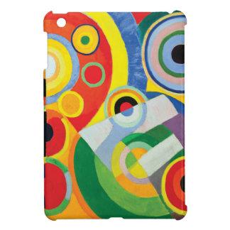 Rythme Joie de Vivre by Robert Delaunay iPad Mini Covers