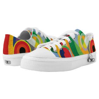Rythme Joie de Vivre by Robert Delaunay Low-Top Sneakers
