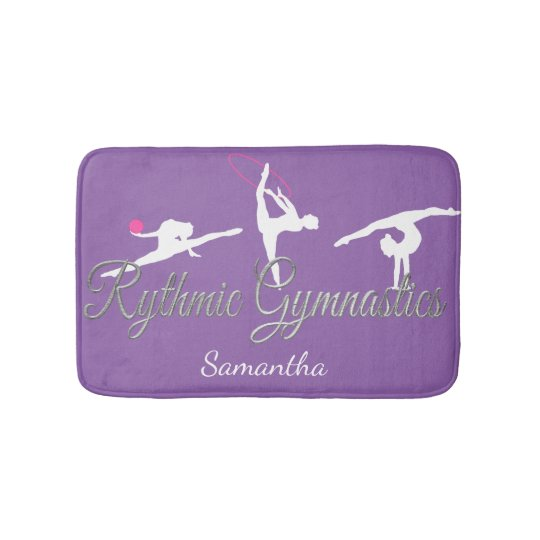 Rythmic Gymnastics personalized bathmat