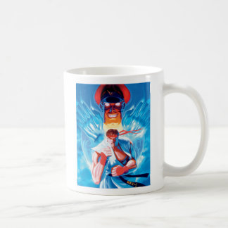 Ryu Versus Bison Coffee Mug