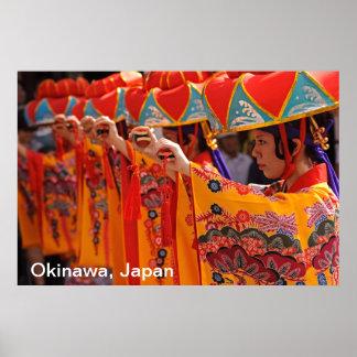 Ryukyu Dance Performance Poster