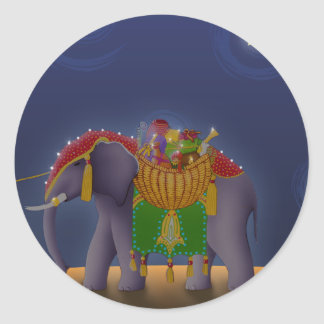 S001 Elephant Sticker