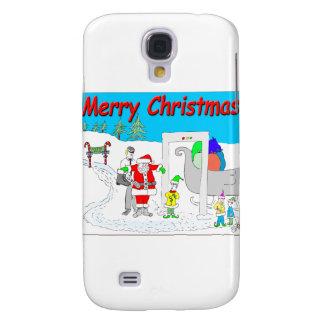 s5 Santa and TSA cartoon - Merry Christmas Cartoon