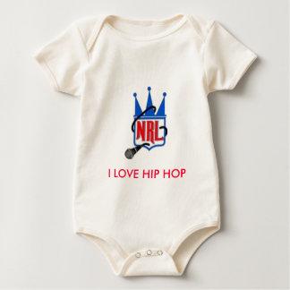 s_492133986b585a524cec44a4c9fdc6d1, I LOVE HIP ... Baby Bodysuit