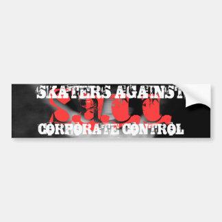 S.A.C.C. Logo Bumper Sticker