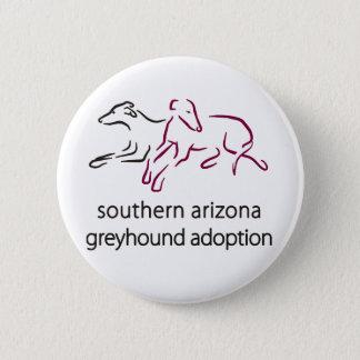S  A Greyhound Adoption Button