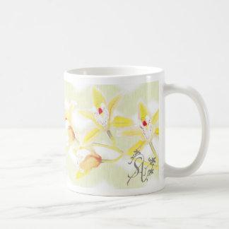 S A orchid mug